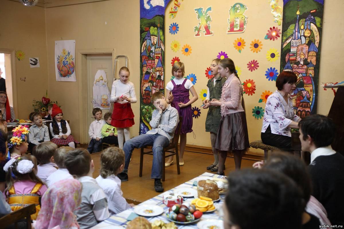 Пасхальные сценарии для воскресных школ