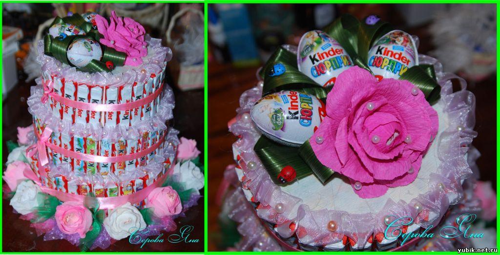 Торт из игрушек своими руками пошагово 96