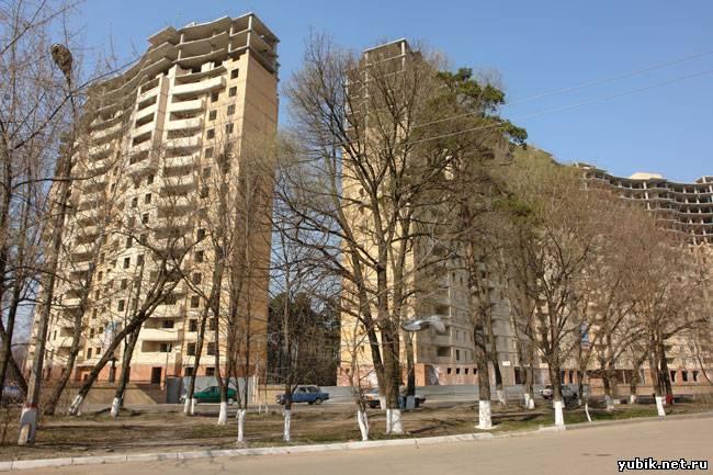 Проект планировки жилого комплекса на