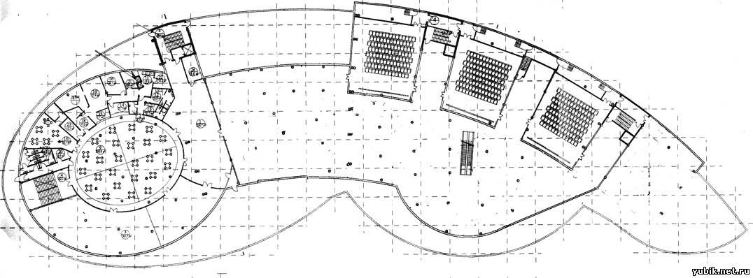 Схема расположения кинотеатра