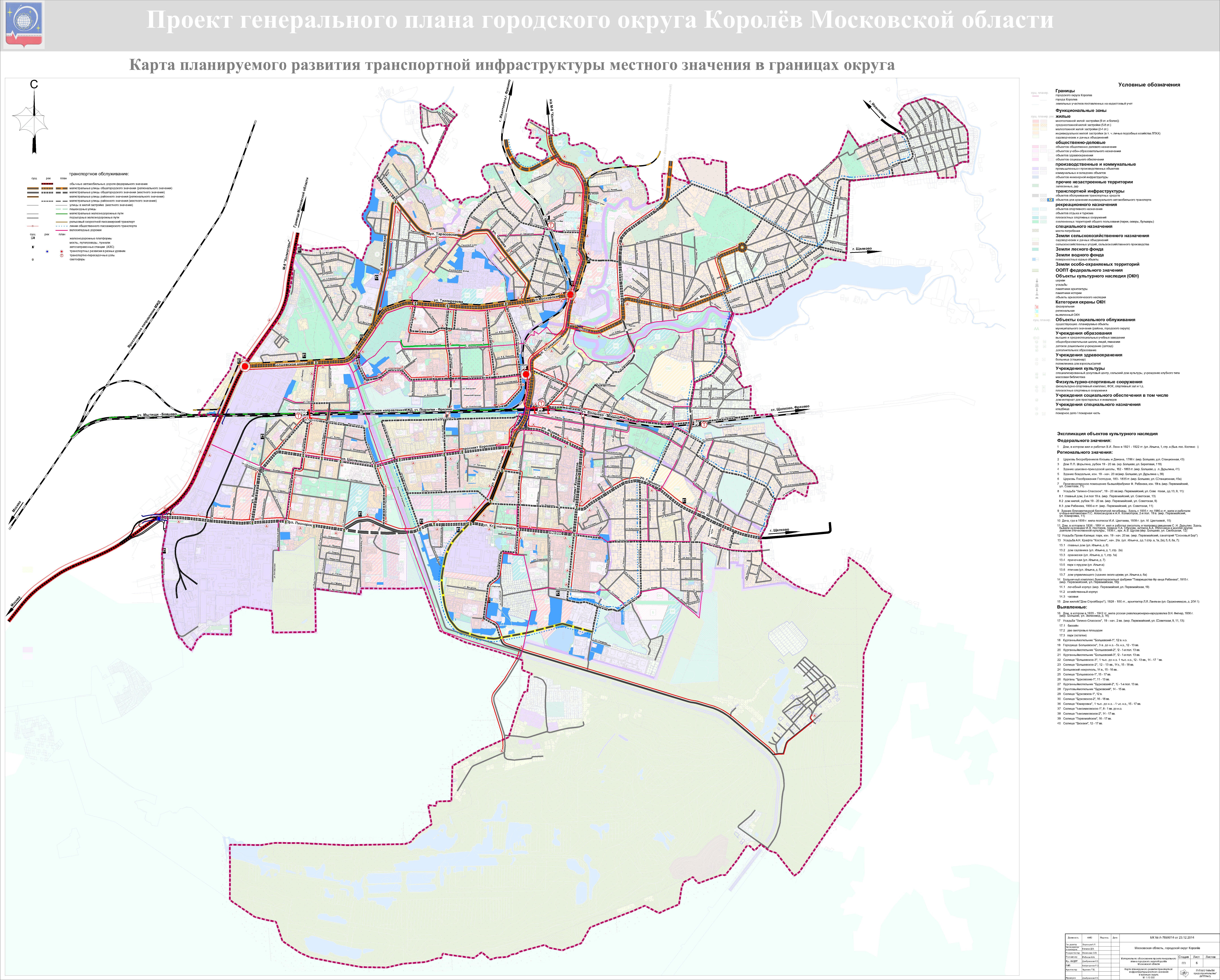 схема городского транспорта подмосковья